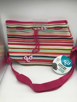 BYO By Built Neo Cinch Lunch Bag w/ Shoulder Strap Multi-Col