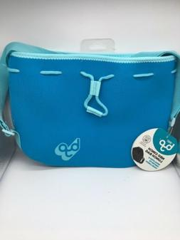 BYO By Built Neo Cinch Lunch Bag w/ Shoulder Strap Sky Blue