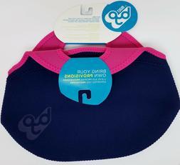 Built BYO RAMBLER Soft Neoprene Lunch Bag NAVY BLUE Bright P