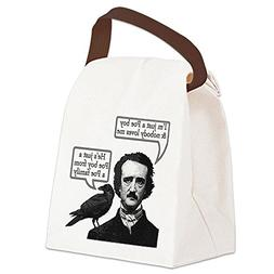 CafePress - Poe Boy Canvas Lunch Bag - Canvas Lunch Bag with