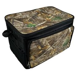 Camouflage Thermal Lunch Box Bag 30 Can Cooler Size Insulate