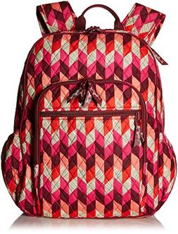 Women's Campus Tech Backpack, Signature Cotton, Bohemian Che