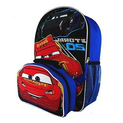 DIsney Cars Kids Backpack With Lunch Bag