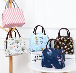 Children Kids Adult Lunch Bags Insulated Cool Bag Picnic Bag