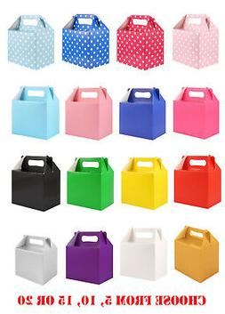 Childrens Kids Party Food Boxes Bag Filler Lunch Food Box Ta