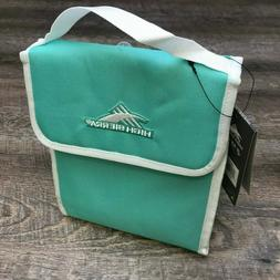 HIGH SIERRA Classic Lunch Bag 5L Mint Green NEW
