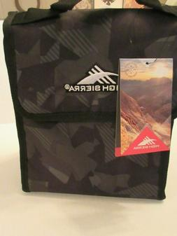 High Sierra Classic Lunch Bag Travel Cooler Geometric Shatte