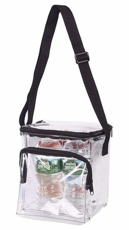 Clear Lunch Bag Stadium Security Approved Clear Lunch Box wi