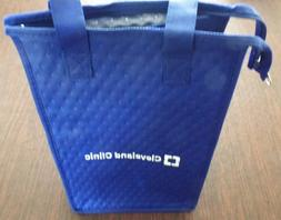 Cleveland Clinic Waterproof Lunch Bag Cooler - 12 Inch by 8