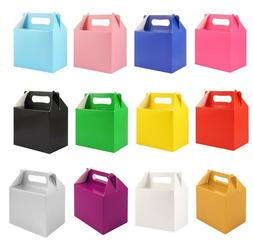 Coloured Wedding Birthday Party Food Lunch Box Gift bag Loot