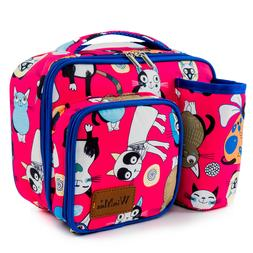 Cool Cute Lunch Bag Women Men Kids Small&Large Insulated The