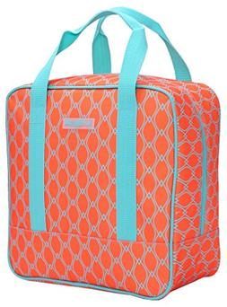 MIER Cooler Bag Tote Adult Insulated Lunch Bag, Large, Brigh