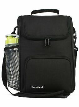 InsigniaX Crossbody Lunch Bag Cool Back to School Lunch Box/