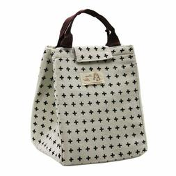 Mziart Cute Insulated Lunch Bags Leakproof Lunch Tote Bag Fo