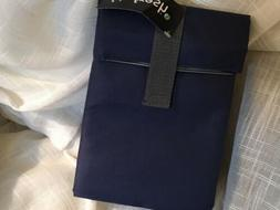 Dark Blue Fit & Fresh Insulated Lunch Bag Tote NWT Velcro Lu