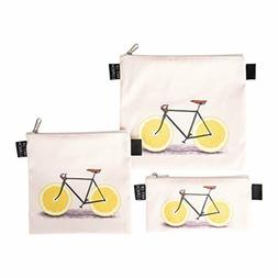 Designer Lunch Baggies ART OF LUNCH for Men - Women, Florent