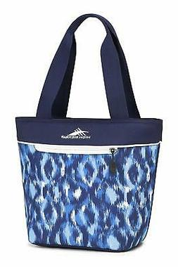 High Sierra Lunch Tote, Front Zippered Pocket for Storing Lu