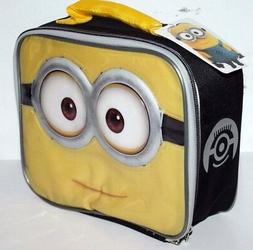 DESPICABLE ME MINION SCHOOL LUNCH BAG BOX PACK KIT FOR BOYS