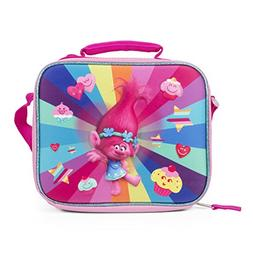 DreamWorks TROLLS Deluxe Girls' 3D Reuseable Lunch Bag with