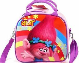 Dreamworks Trolls Poppy Lunch Bag Plus Water Bottle- Pink