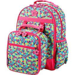 J World New York Duet Kids' Backpack with Lunch Bag Everyday