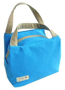 Blancho Bedding Durable Waterproof Lunch Tote Bag Lunch Hold