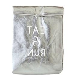 Set of 2 Eat & Run - Lunch Cooler Bag