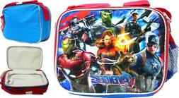 "Avengers ""End Game"" Super Hero Boys Insulated Lunch Bag Kids"
