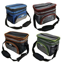 Expandable Thermal Travel Lunch Bag School Work Insulated  L
