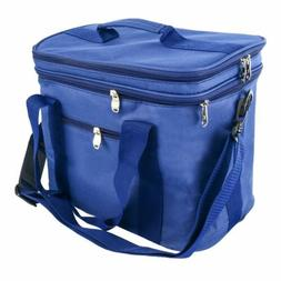 Extra Large Lunch Bag Adult Double Decker Compartment Cooler