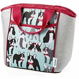 Fit &amp Fresh Aria Insulated Lunch Bag Kids, Pug Life Kitch