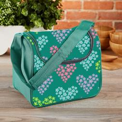 Fit & Fresh Kids' Insulated Lunch Bag Padded Shoulder Strap,