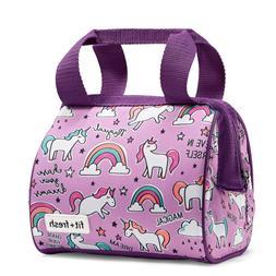 Fit & Fresh Riley Insulated Lunch Bag, Stylish, Fun, Colorfu