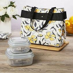 "Fit "" Lunch Bags Fresh Danville Kit For Women With BPA-free"