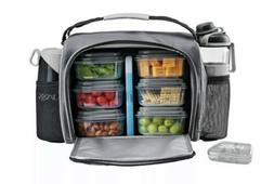 Jaxx Fitpak Deluxe Lunch Bag w/ Handy Snaker Container Brand