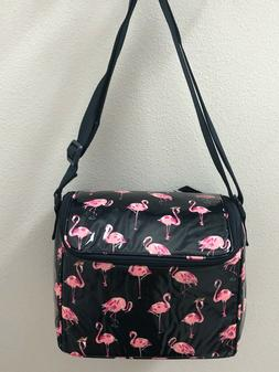Vera Bradley FLAMINGO FIESTA Stay Cooler Insulated Lunch BAG