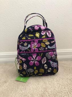 VERA BRADLEY Floral Nightingale Iconic Lunch Bag