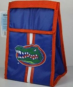 Florida Gators Soft Sided Insulated Velcro Lunch Bag with Zi