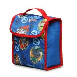 PAW PATROL FOLDABLE INSULATED LUNCH BAG NWT KIDS SCHOOL FOOD