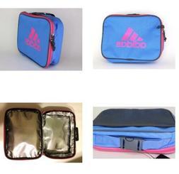 Adidas Foundation Lunch Box School Bag Soft Blue/Pink Side S