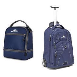 High Sierra Freewheel Backpack, True Navy and High Sierra St