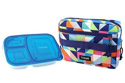 PackIt Freezable Bento Box Set: Freezable Sleeve and Reusabl