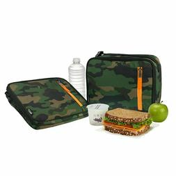 PackIt Freezable Classic Lunch Box Camo School Camping Scout