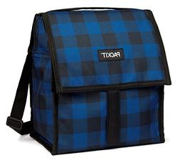 PackIt Freezable Deluxe Large Lunch Bag with Shoulder Strap,