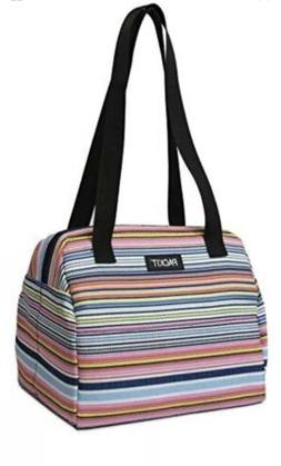PackIt Freezable Hampton Lunch Bag Blanket Stripe