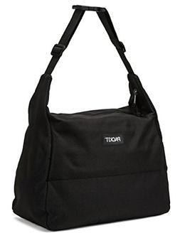 PackIt Freezable Hobo Lunch Bag, Black