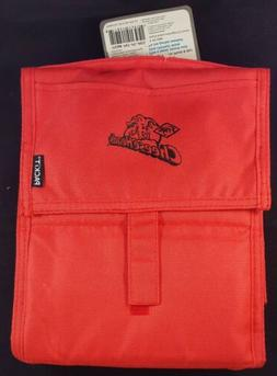 Packit Freezable Lunch Bag Red Frigo Cheeseheads Logo NEW Pi
