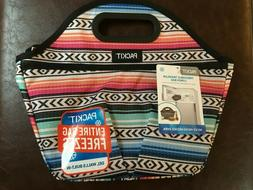 PackIt Freezable Traveler Lunch Bag, Fiesta