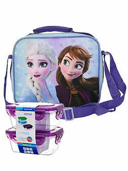 frozen 2 elsa and anna insulated lunch