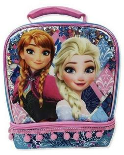 Disney Frozen Lunch Box Soft Sided Insulated Cooler Bag with